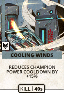 Cooling Winds