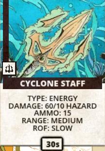 Cyclone-staff
