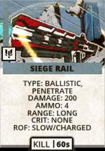 Siege Rail