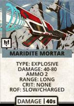 Maridite Mortar