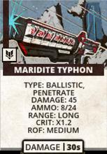Maridite Typhoon