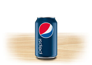 Drinks pepsi can