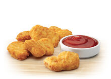 Extras nuggets 6pce