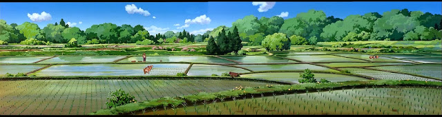Outdoor Anime Landscape -Scenery - Background- 97