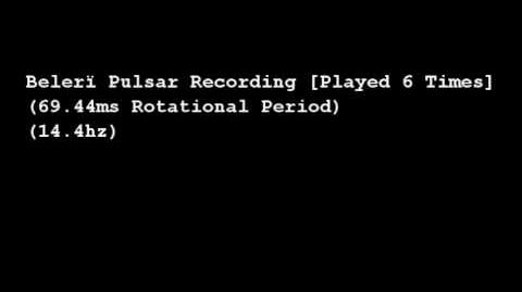 Belerï Pulsar Recording
