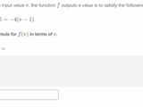 Writing function rules from equations