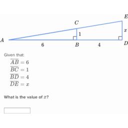 Solving Similar Triangles 2