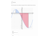 The definite integral as the limit of a Riemann sum