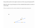 Drawing right, acute, and obtuse angles