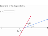 Unknown angle algebra problems