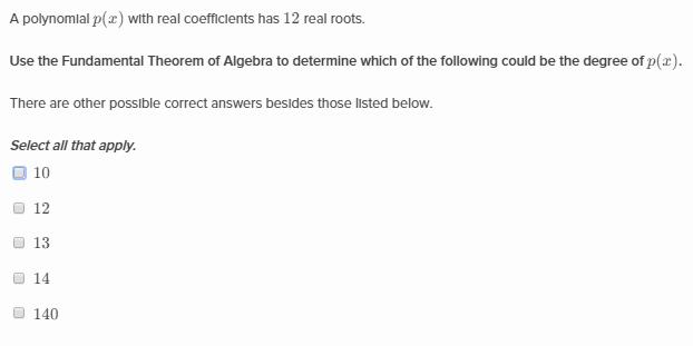 The Fundamental Theorem Of Algebra Khan Academy Wiki Fandom