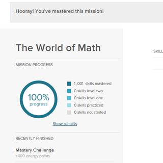 1000 skills, but no <a href=