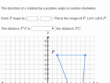 Performing transformations on the coordinate plane