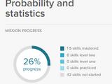 Probability and statistics Math Mission