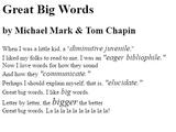 Challenge: Great big font sizes