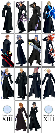Organization XIII Collage