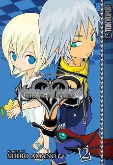 Kingdom Hearts Chain of Memories Manga 2