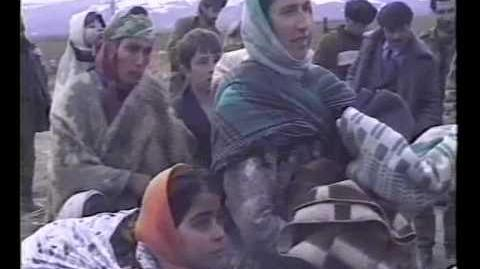 Khojaly Civilians Going To Agdam