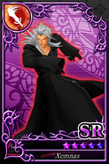 Xemnas mentre attacca