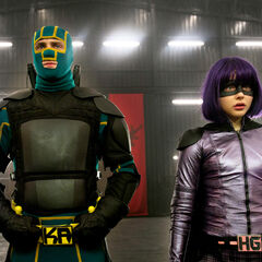 Kick-Ass & Hit Girl in The TMC's Lair