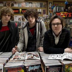 Dave with Todd and Marty at the comic book store.