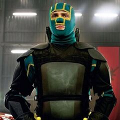 Kick-Ass wearing Big Daddy's Armor for the Final Battle.