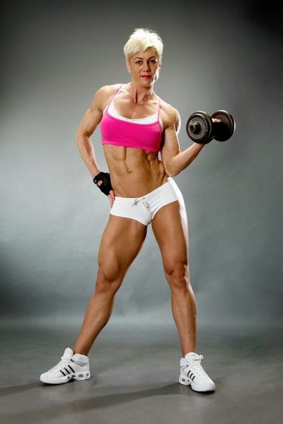 Muscle Women Ass