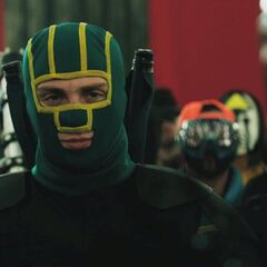Kick-Ass confronting the MotherFucker