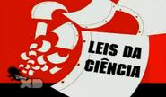 Leis da ciencia cartão de titulo