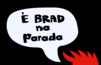 Cartão de Título - É Brad na Parada