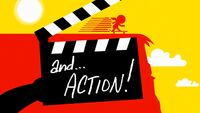 And...action! hdtitlecard