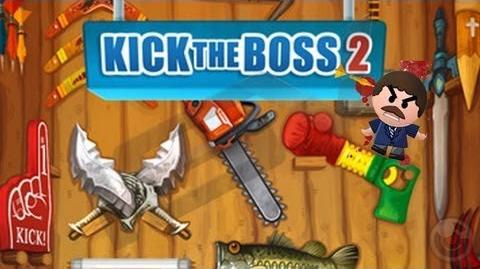 Kick the Boss 2 - iPhone & iPad Gameplay Video
