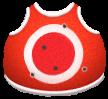 BNDL 167fb069f712c68c Red-white target t shirt Game 1+1+1