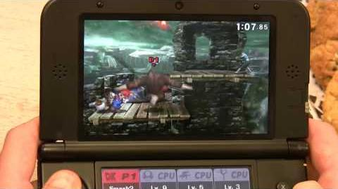 Super Smash Bros for 3DS Reset Bomb Forest Gameplay