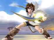 Pose de victoire Pit (SSB4 Wii U)