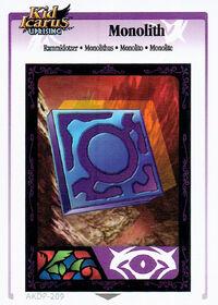 Monolithus (KIU AR Card)