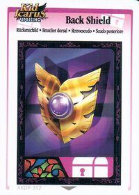 Bouclier dorsal (KIU AR Card)