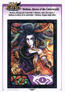 Medusa, reine des Enfers (KIU AR Card)
