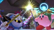 Meta Knight & Kirby (en Palutena)