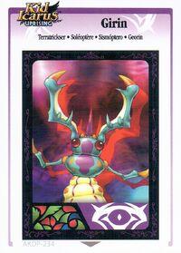 Soléoptère (KIU AR Card)