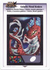 Kraken, monstre galactique (KIU AR Card)