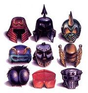 Helmets-art
