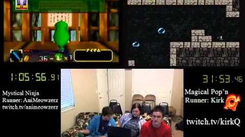 SGDQ 2012 Bonus Stream - Game 02 - Mystical Ninja vs Magical Popn Kid Chameleon