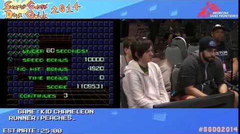 SGDQ 2014 Bonus Stream - Game 3 - Kid Chameleon