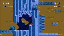 Ice god secret passage