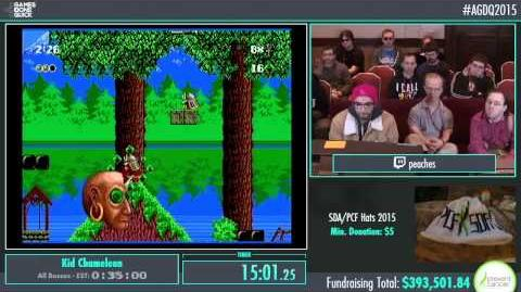 Awesome Games Done Quick 2015 - Part 90 - Kid Chameleon by Peaches