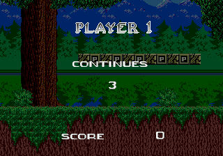 2-Players Continue Font