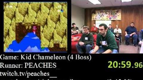 Kid Chameleon Speed Run (29 42), Part 2 2 (AGDQ 2012)