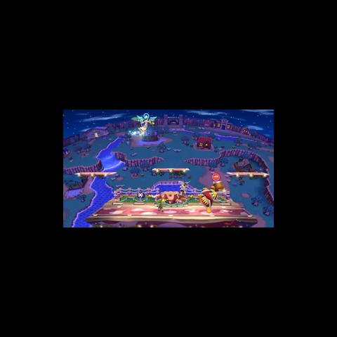Palutena usando Planeo en Super Smash Bros. para Wii U