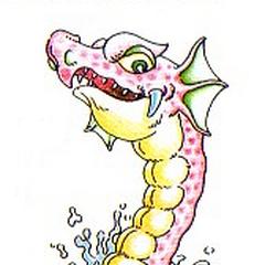 Artwork de Hidra en Kid Icarus